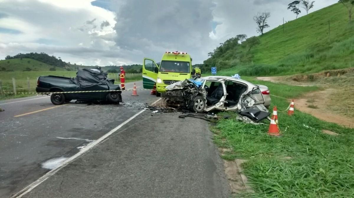 Motorista morre em acidente na BR-101 em Atílio Vivácqua no ES