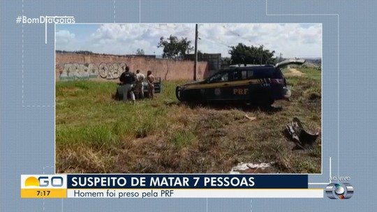 Jovem suspeito de sete homicídios é preso ao tentar fugir na contramão, em Valparaíso de Goiás