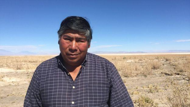 Jorge Cruz diz que não pode mais criar animais pela falta de água doce (Foto: via BBC News)