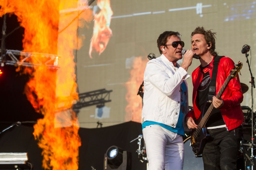 Simon Le Bon e John Taylor do Duran Duran em 2017 (Foto: Getty Images)
