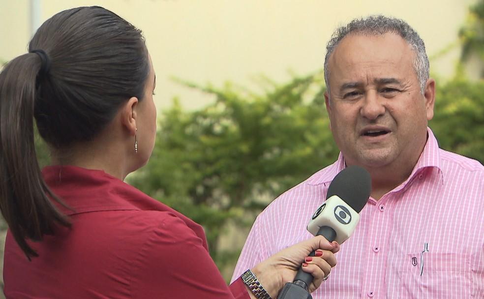 O subsecretário de Vigilância à Saúde do DF, Divino Martins — Foto: TV Globo/Reprodução