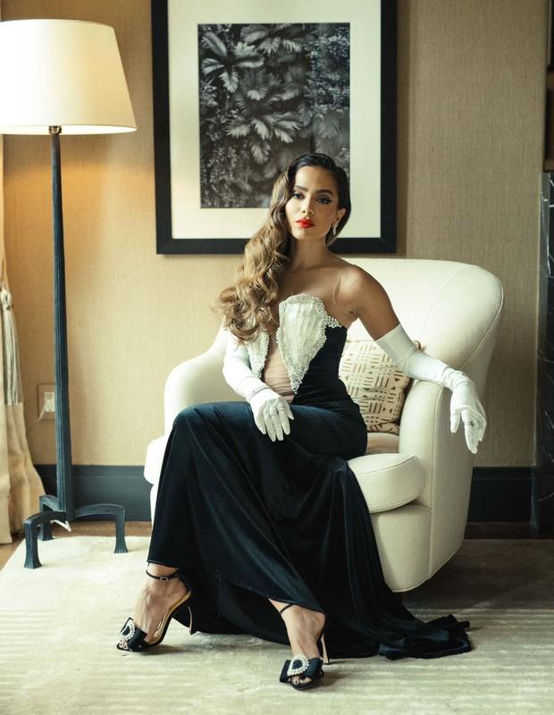 Anitta pronta pro VMA 2021 (Foto: Bruno Bicalho)
