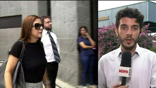 Marqueteiros João Santana e Mônica Moura depõem em SP
