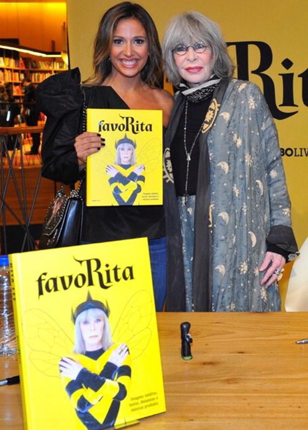 Luisa Mell e Rita Lee (Foto: Samuel Chaves/Brazil News)
