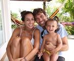 Marcelo Faria com a família | Arquivo pessoal