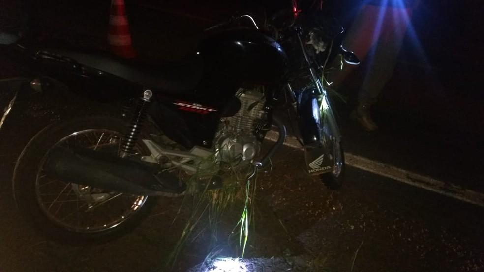 Fábio Borges Damasceno era morador da Vila Conceição e voltava do trabalho para casa em sua motocicleta — Foto: Divulgação/Polícia Rodoviária Federal