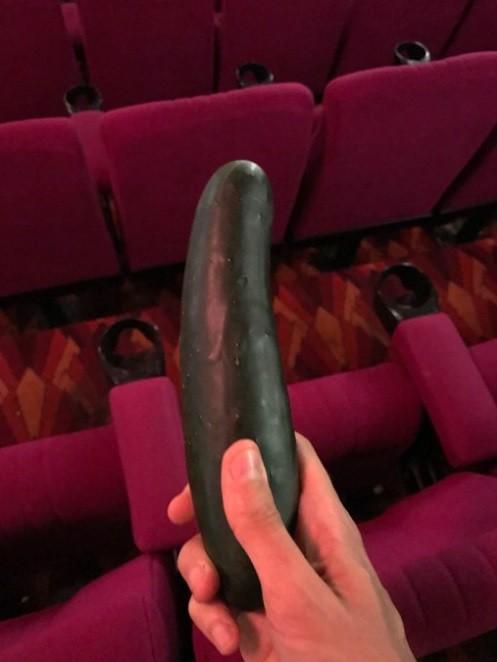 O vegetal exibido na sala de cinema