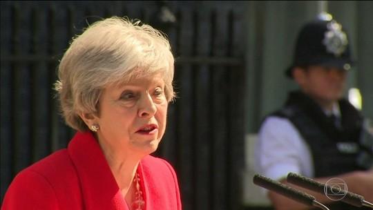 Theresa May anuncia renúncia ao cargo de primeira-ministra