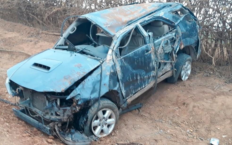 Acidente ocorreu em estrada vicinal no norte do estado (Foto: Edivaldo Braga/BlogBraga)