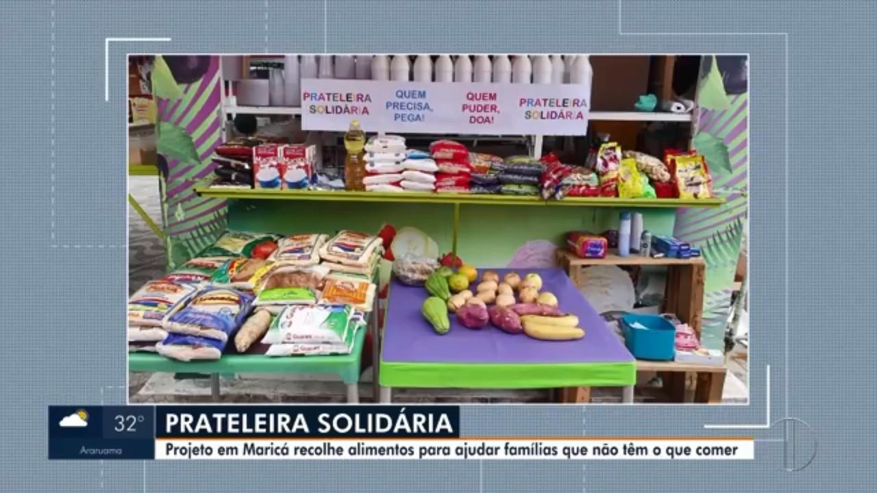 Projeto em Maricá recolhe alimentos para ajudar famílias que não têm o que comer