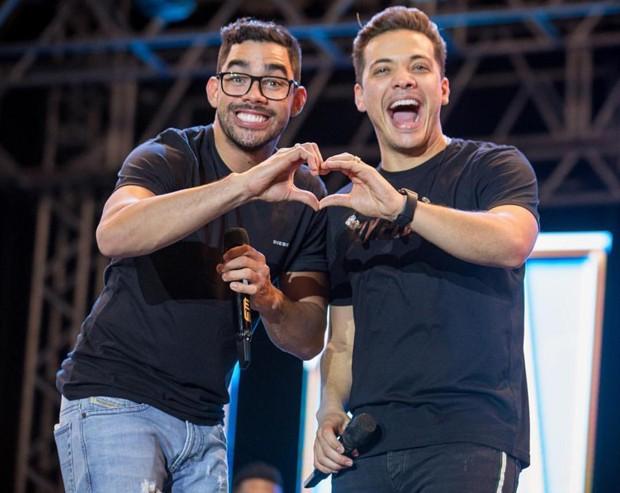 Gabriel Diniz e Wesley Safadão (Foto: Reprodução/ Instagram)
