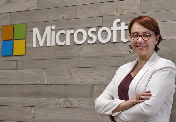 Tânia Cosentino, nova presidente da Microsoft Brasil (Foto: Divulgação)