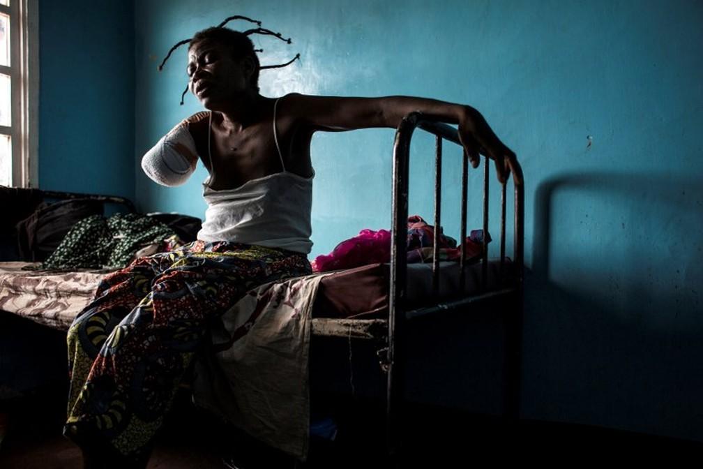 Moradores de Kasai levam consigo a dor das perdas e ferimentos provocados pela violência na região (Foto: AFP)