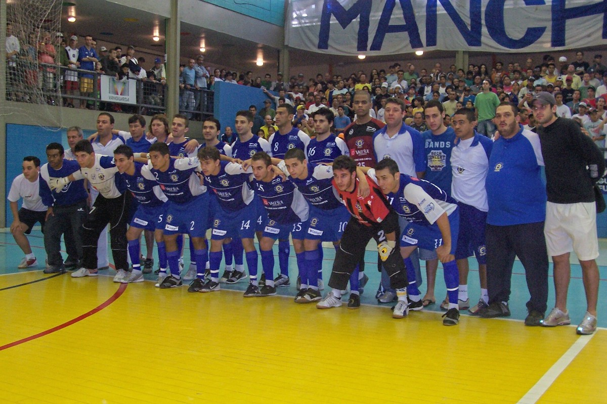 Primeiro título paulista do São José Futsal completa 10 anos  ídolos  relembram  ac2c27a8e07c3