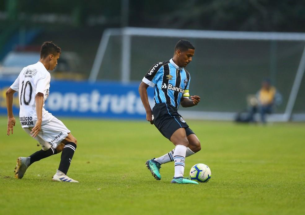 Pedro Cuiabá, volante do Grêmio — Foto: Divulgação/Grêmio