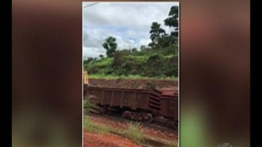 Estrada de Ferro Carajás é interditada no Pará após descarrilamento de trem de carga