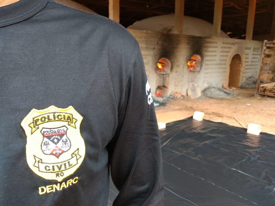 Cerca de 800 quilos de drogas são incinerados em Porto Velho