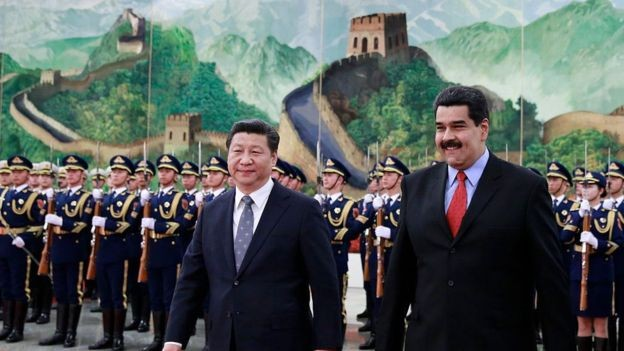 Acredita-se que a Venezuela deva à China cerca de US$ 16 bilhões (Foto: Getty Images via BBC News Brasil)