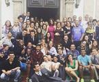 Equipe e elenco de Babilônia | Reprodução/Instagram