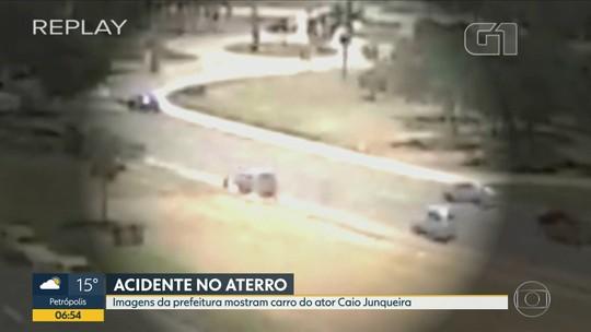 'Está querendo lutar pela vida', diz mãe do ator Caio Junqueira, internado após acidente