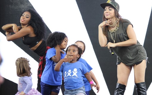 Performance de Anitta