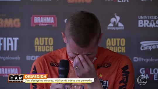 Placa, camisas personalizadas e pontapé inicial: Atlético-MG vai homenagear Adilson no domingo