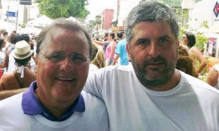 O advogado Gustavo Ferraz (à dir.) se diz traído por Geddel  (Foto: Agência O Globo  )