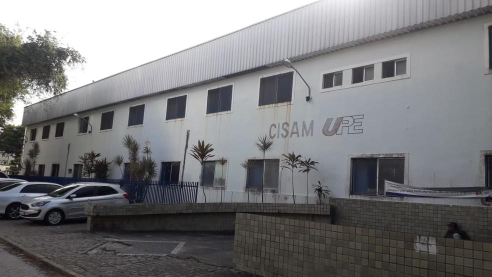 Centro Integrado de Saúde Amaury de Medeiros, da Universidade de Pernambuco (Cisam/UPE), localizado no Recife — Foto: Luna Markman/GloboNews