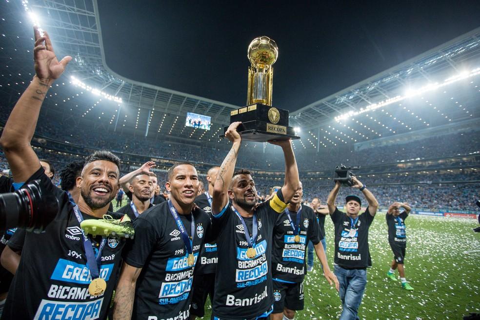 Grêmio se apega a histórico recente em mata-matas (Foto: Lucas Uebel/Grêmio)