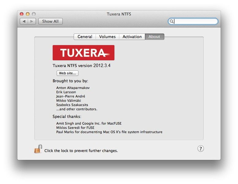Tuxera NTFS for Mac | Download | TechTudo