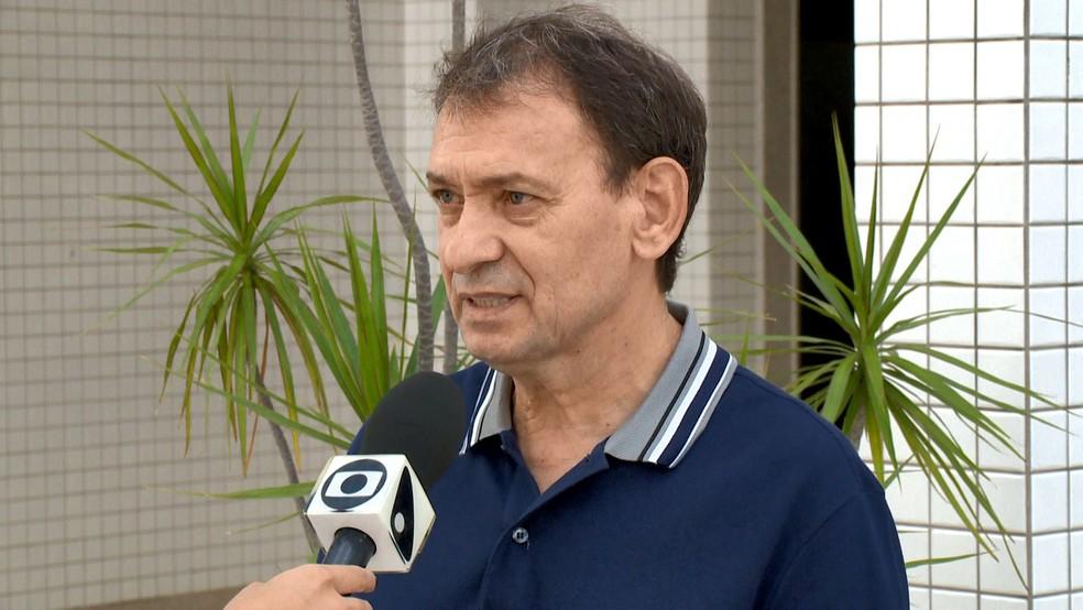 Presidente da ONG Pró-Vida, Adauto Vieira — Foto: Reprodução/TV Gazeta