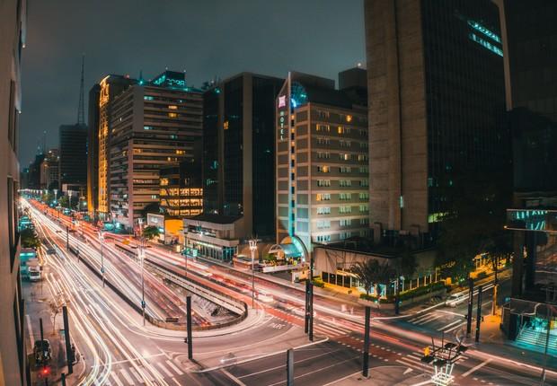Av. Paulista, em São Paulo (Foto: Kaique Rocha/Pexels)