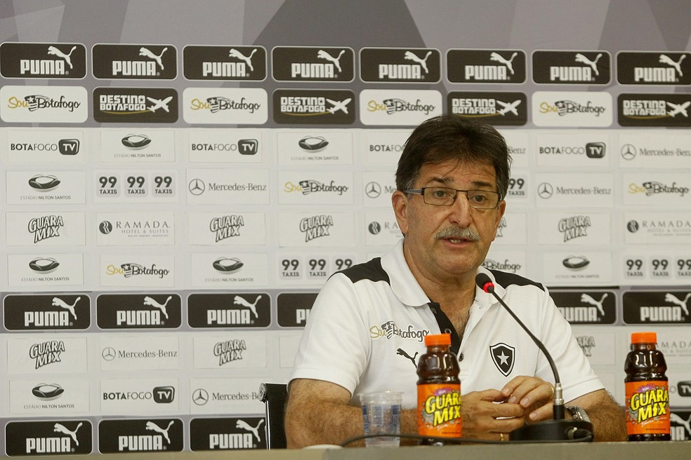René Simões foi o técnico que teve o melhor aproveitamento no Botafogo entre 2011 e 2020 — Foto: Vitor Silva / SSPress