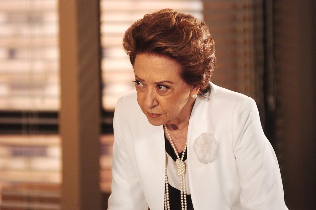Fernanda Montenegro foi a vilã Bia Falcão na novela 'Belíssima', em 2005 — Foto: Rede Globo