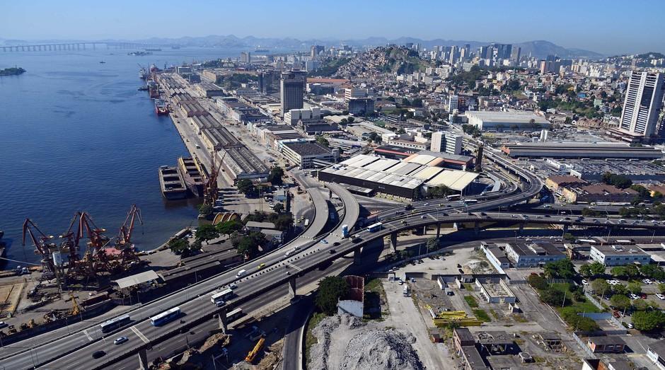Empresas voltam a se interessar por Porto Maravilha, no Rio de Janeiro (Foto: Reprodução)