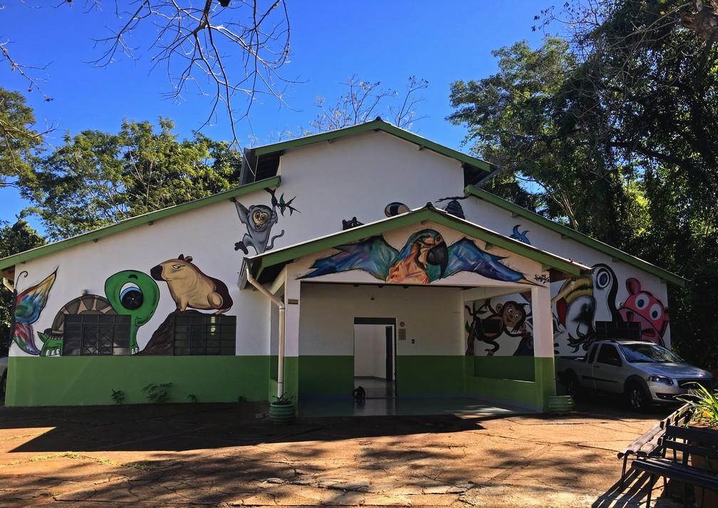 Cetas foi instalado no Hospital Veterinário da Cidade da Criança em Presidente Prudente — Foto: Stephanie Fonseca/G1