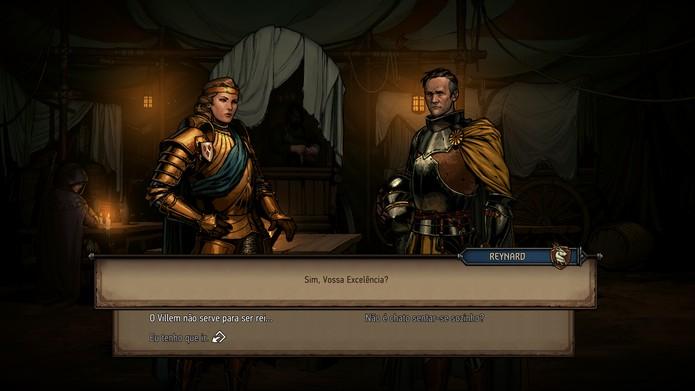 Thronebreaker: The Witcher Tales (Foto: Reprodução/Murilo Tunholi)