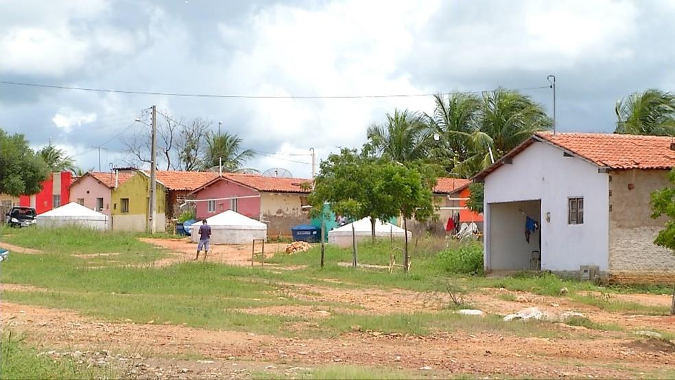 Chuvas do primeiro trimestre encheram cisternas de produtores rurais do RN (Foto: Reprodução/Inter TV Cabugi)