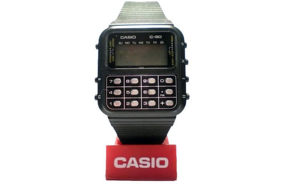 Relógio Casio c-80 (Foto: Divulgação/Casio)