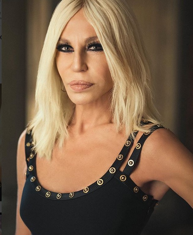Donatella Versace (Foto: Reprodução/Instagram)