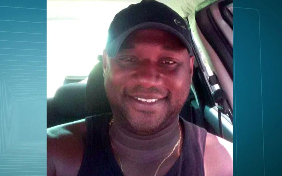 Anderson foi o segundo policial morto no Rio em 2018 (Foto: Reprodução / TV Globo)