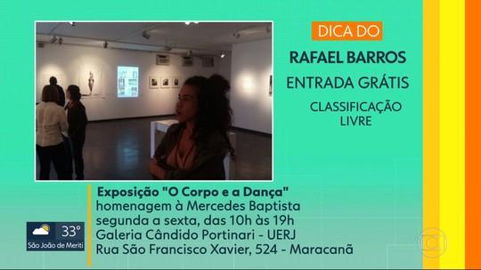 Dica de casa: exposição homenageia a primeira bailarina negra do Theatro Municipal, Merdedes Baptista