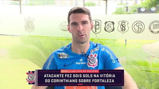 Boselli vê futuro no Corinthians e revela motivo para torcer pelo Flamengo na Libertadores