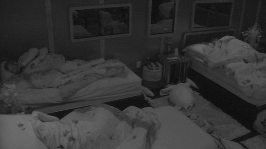 Todos os brothers continuam dormindo no dia da grande Final