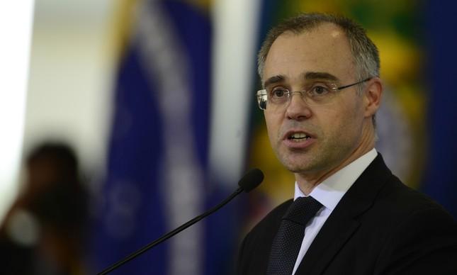 O advogado-geral da União, André Mendonça