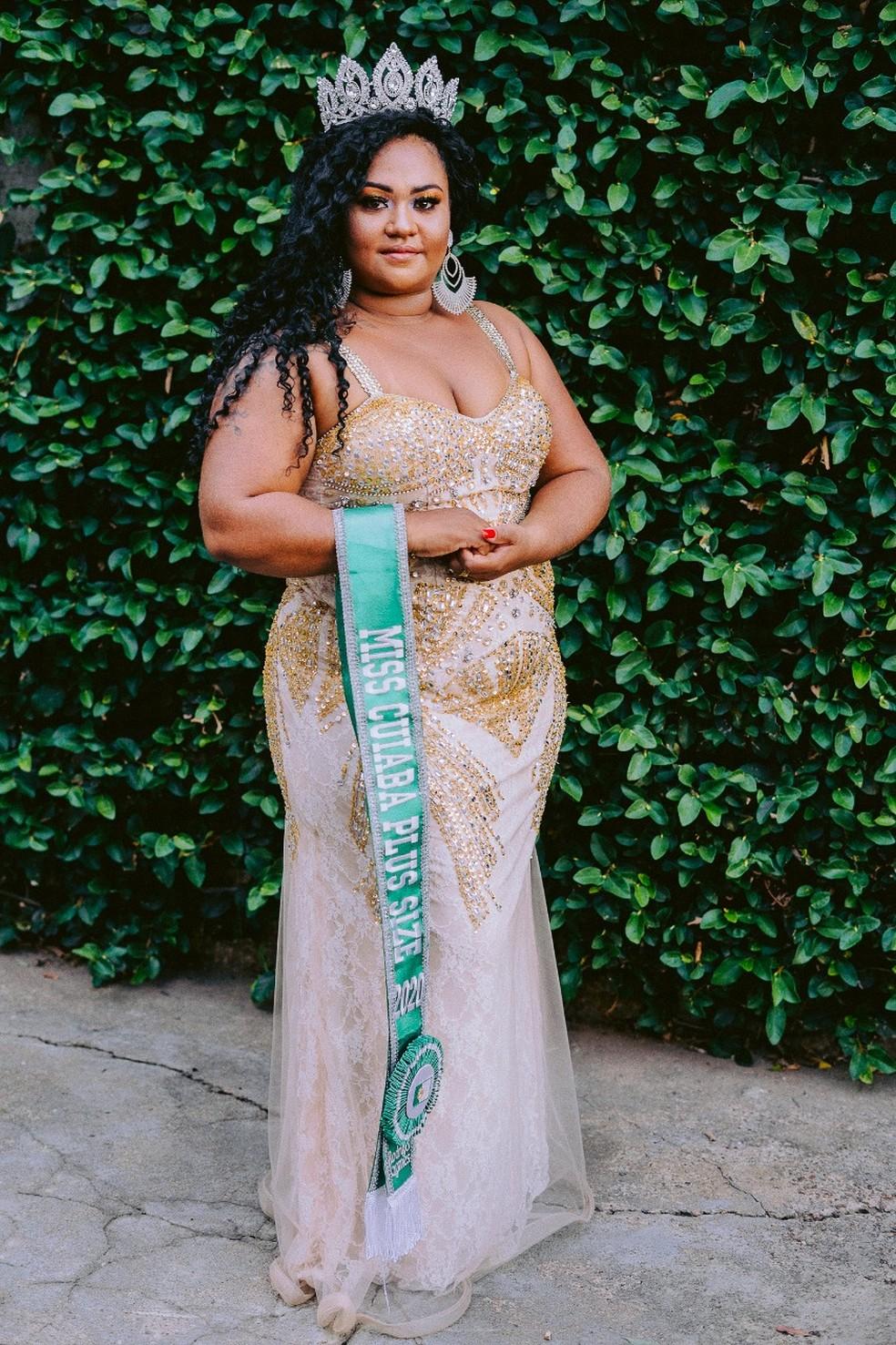 Ivani Caroline Mesquita Santos foi a ganhadora do concurso em 2020 — Foto: Arquivo Pessoal/Rodrigo Gomez