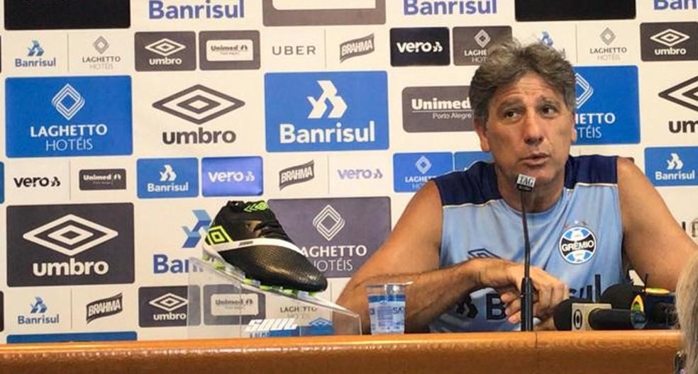 Renato Gaúcho, técnico do Grêmio  — Foto: Paula Menezes
