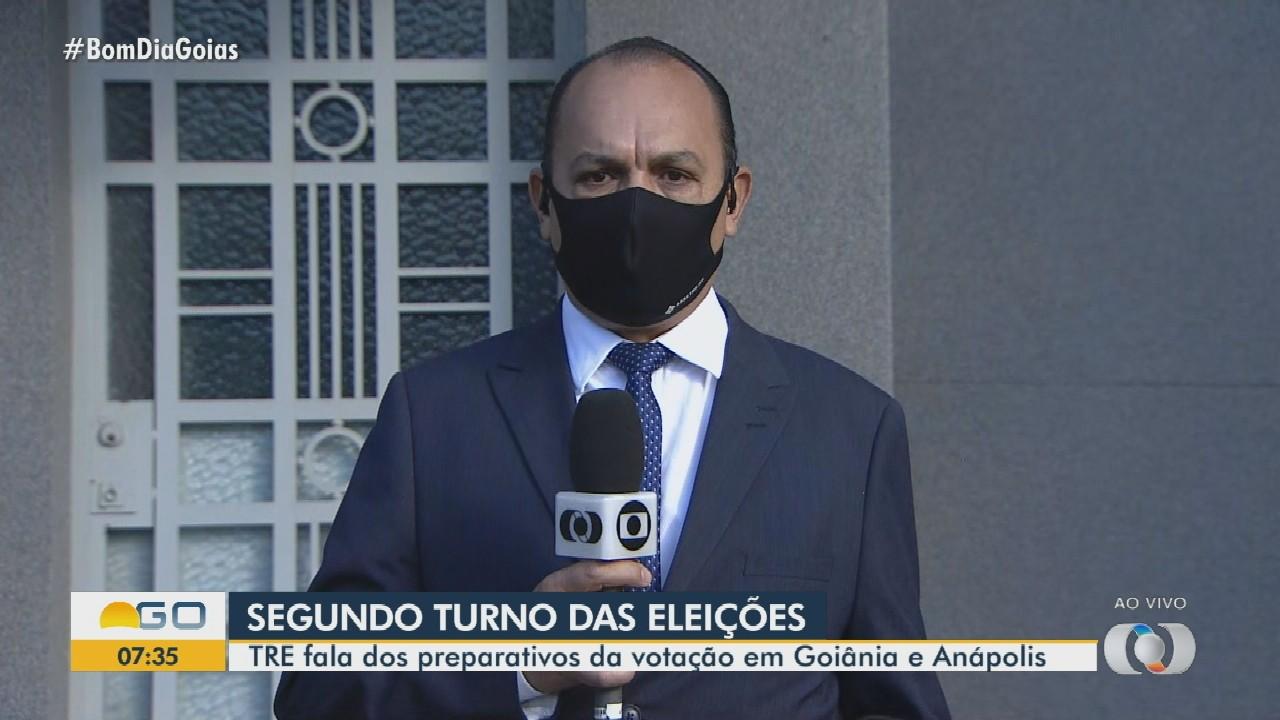 TRE fala sobre a preparação para o segundo turno das eleições, em Anápolis