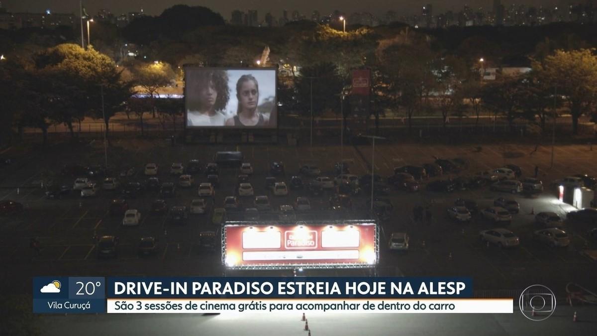 Cinema drive-in dedicado a filmes brasileiros abre neste sábado em SP com ingressos gratuitos   São Paulo