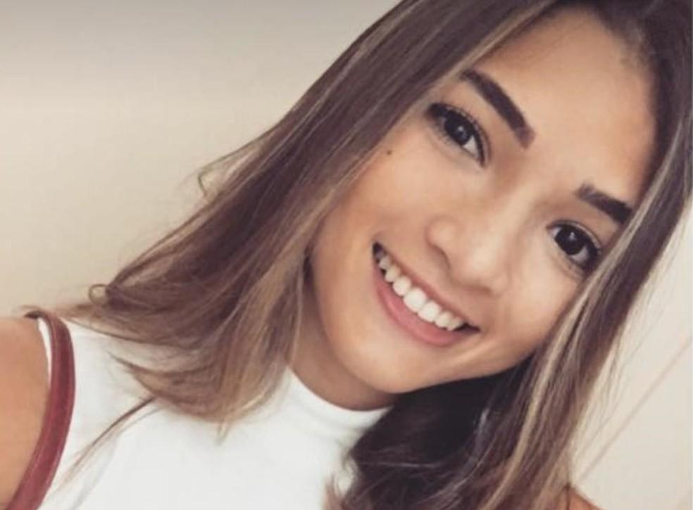 -  Cecília foi baleada em uma tentativa de assalto em Fortaleza  Foto: Reprodução